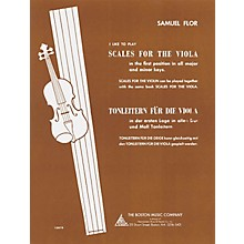 Boston Music I Like to Play Scales for the Viola Music Sales America Series Written by Samuel Flor