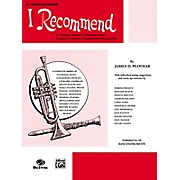 Alfred I Recommend B-Flat Tenor Saxophone
