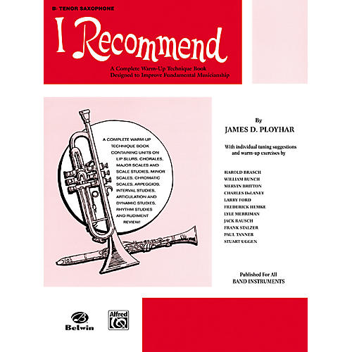 Alfred I Recommend B-Flat Tenor Saxophone-thumbnail
