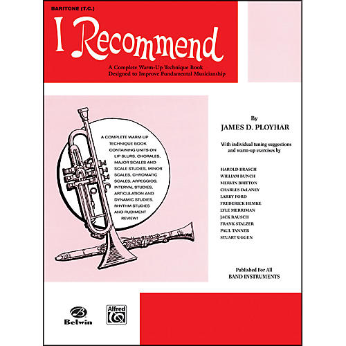 Alfred I Recommend Baritone (T.C.)-thumbnail