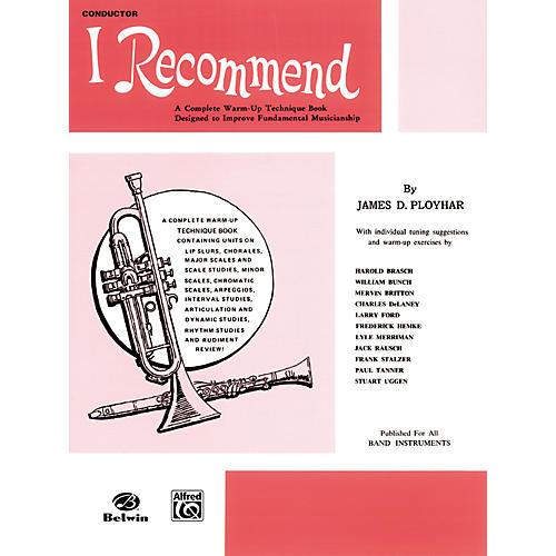 Alfred I Recommend E-Flat Alto Saxophone