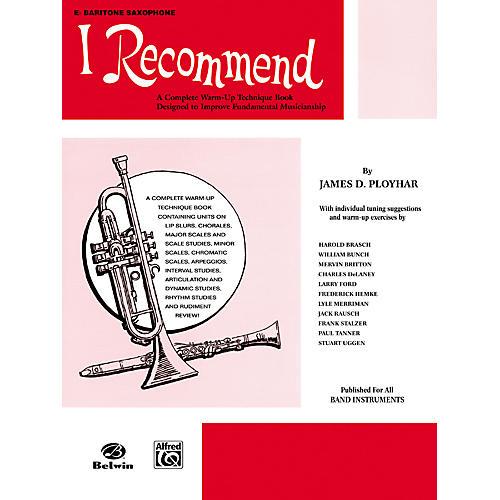 Alfred I Recommend E-Flat Baritone Saxophone-thumbnail