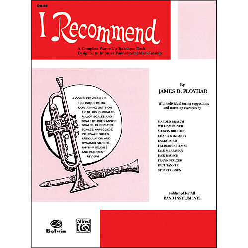 Alfred I Recommend Oboe-thumbnail