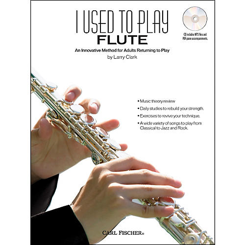 Carl Fischer I Used To Play Flute Book/CD-thumbnail