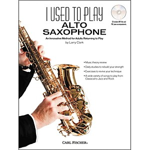 Carl Fischer I Pre-owned to Play Alto Sax Book/CD by Carl Fischer