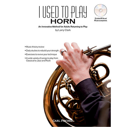 Carl Fischer I Used to Play French Horn (Book + CD)-thumbnail