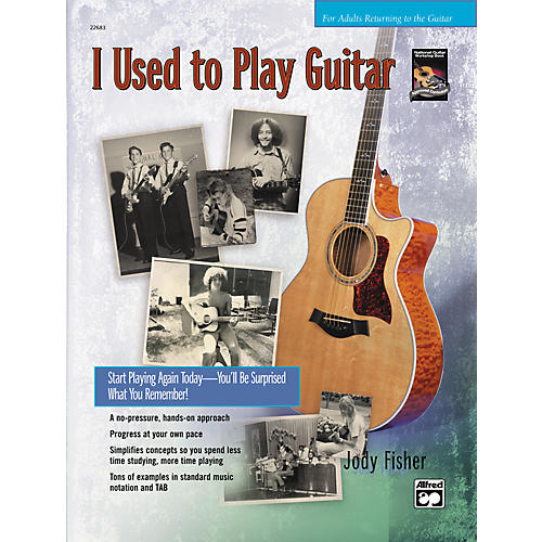 Alfred I Used to Play Guitar (Book/CD)