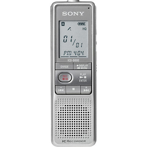 Sony ICD-B600 Digital Voice Recorder