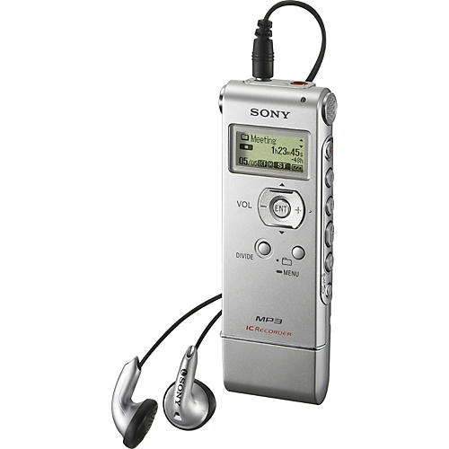Sony ICD-UX81 Digital Recorder and MP3 Player