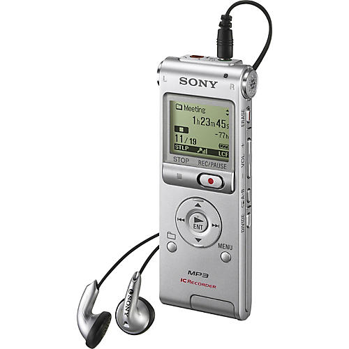 Sony ICDUX200 Digital Flash Voice Recorder-thumbnail