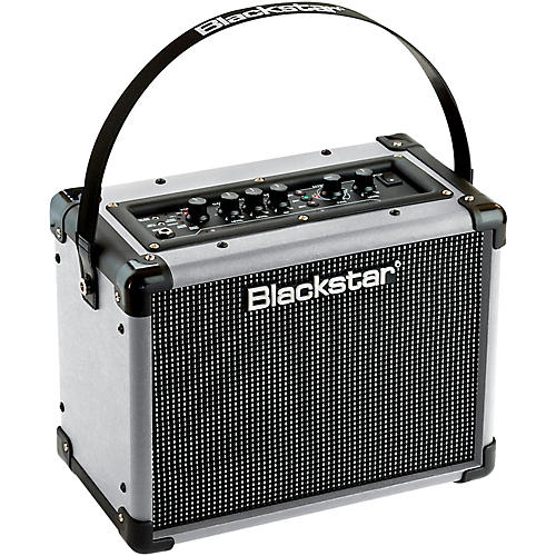 blackstar id core stereo 10 limited edition silver 10w combo guitar amplifier guitar center. Black Bedroom Furniture Sets. Home Design Ideas