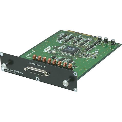 Tascam IF-AE/DM 8-Channel AES/EBU Digital I/O Expansion Card for SX-1/DM-24