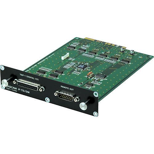 Tascam IF-TD/DM 8-Channel Digital TDIF-1 Expansion Card for SX-1/DM-24