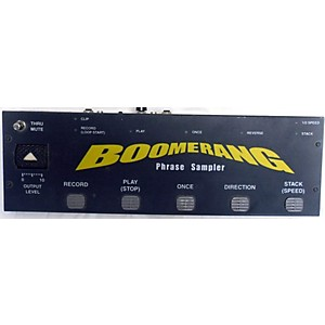 Pre-owned Boomerang III Phrase Sampler Pedal by Boomerang