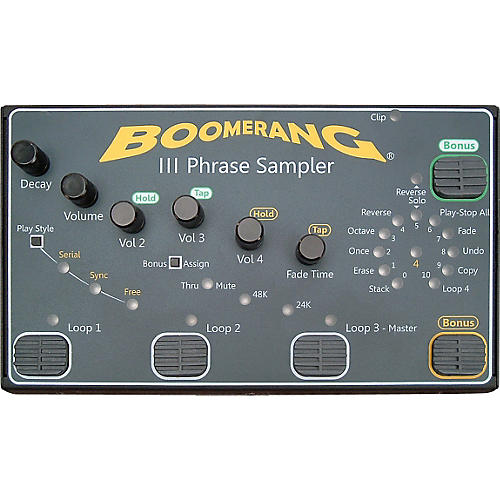 Boomerang III Phrase Sampler-thumbnail