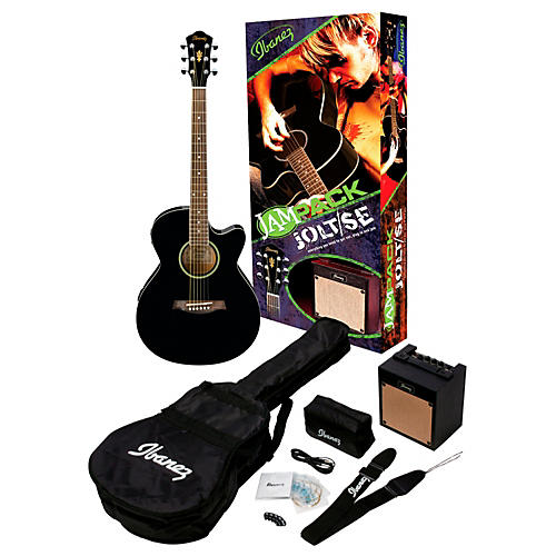Ibanez IJAE5 JamPack Jolt/SE Acoustic-Electric Guitar Pack-thumbnail
