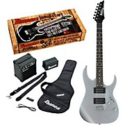 IJRG220Z Electric Guitar Package Silver