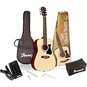 IJV30 Quickstart 3/4 Acoustic Guitar Pack Natural