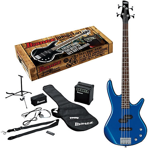Ibanez IJXB150B Jumpstart Bass Package Starlight Blue