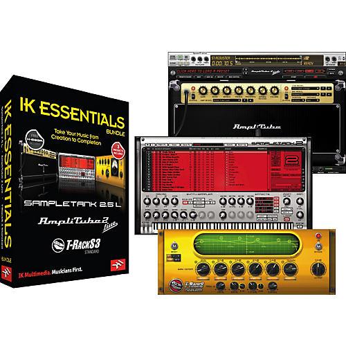 IK Multimedia IK Essentials Software Bundle