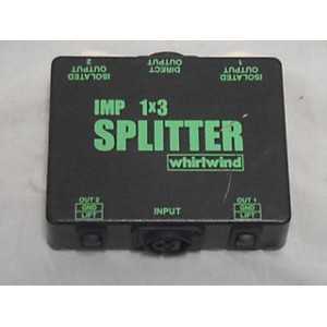 Pre-owned Whirlwind IMP 1x3 Splitter Signal Processor by Whirlwind
