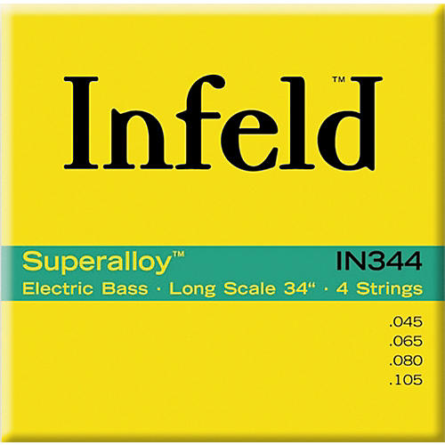 Thomastik IN344 Superalloy 4-String Bass Regular Scale-thumbnail