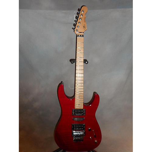 G&L INVADER DELUXE PLUS Solid Body Electric Guitar Trans Red