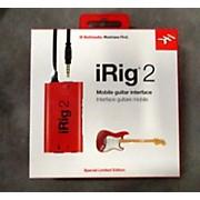 IK Multimedia IRIG 2 MOBILE GUITAR INTERFACE Multi Effects Processor