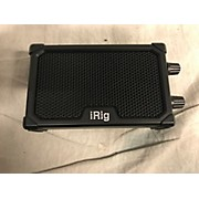 IK Multimedia IRig Nano Amp Battery Powered Amp
