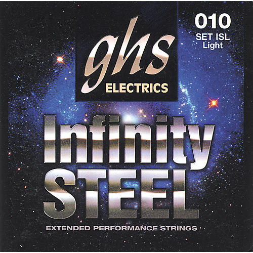 GHS ISL Infinity Steel Black Coated Guitar Strings