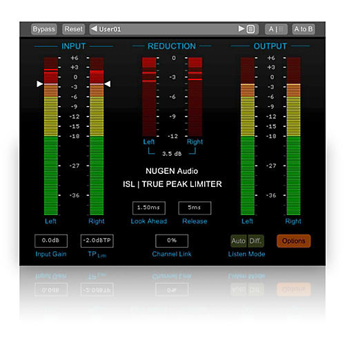 NuGen Audio ISL True-Peak limiter Software Download