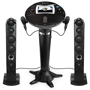 The Singing Machine ISM1060BT Hi-Def Pedestal Karaoke System by The Singing Machine