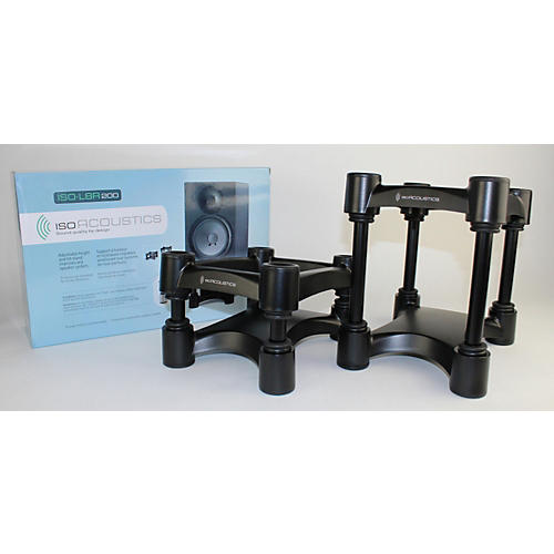IsoAcoustics ISO-L8R200 Large Studio Monitor Stands - Pair