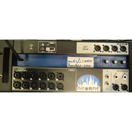 used soundcraft iu16 digital mixer guitar center. Black Bedroom Furniture Sets. Home Design Ideas