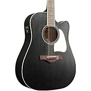 Ibanez Ibanez Artwood AW360CEWK Solid Top Dreadnought Acoustic-Electric Guitar