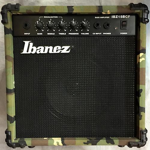 Ibanez Ibz15bcf Bass Combo Amp