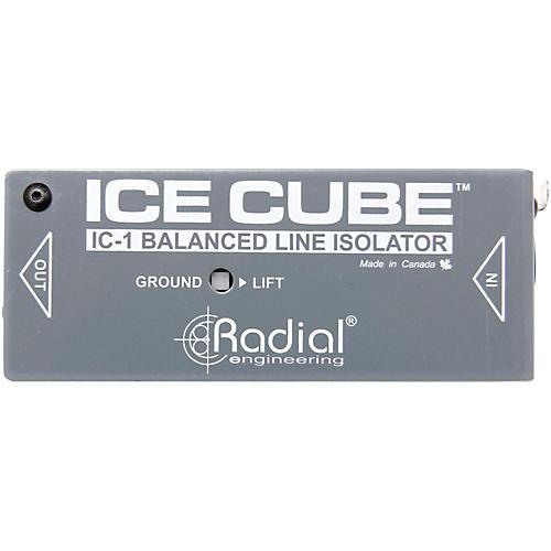 Radial Engineering IceCube IC-1 Balanced Line Isolator and Hum Eliminator-thumbnail