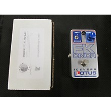 Lotus Iceverb Limited Edition Effect Pedal
