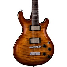 Icon Flame Top Electric Guitar Transparent Brazilia