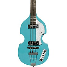 Ignition LTD Violin Electric Bass Guitar Baby Blue