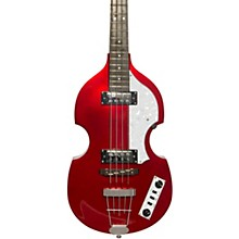 Ignition LTD Violin Electric Bass Guitar Maroon