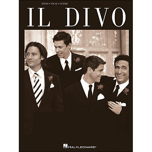 Hal Leonard Il Divo arranged for piano, vocal, and guitar (P/V/G)