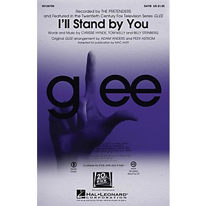 Hal Leonard I'll Stand By You SAB by Glee Cast TV Series Arranged by Mac ... by Hal Leonard