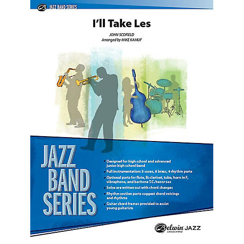 Alfred I'll Take Les Jazz Band Grade 3 Set-thumbnail