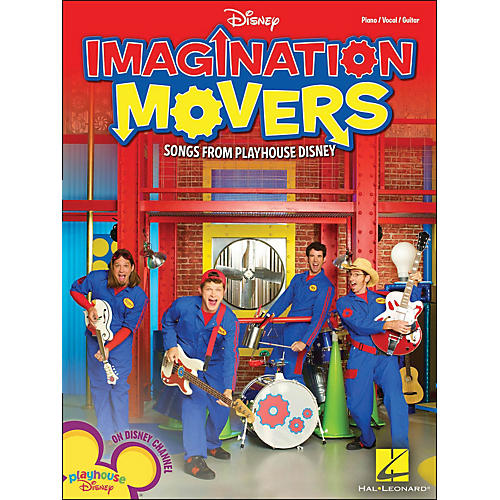 Hal Leonard Imagination Movers - Songs From Playhouse Disney arranged for piano, vocal, and guitar (P/V/G)-thumbnail