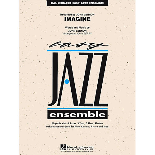 Hal Leonard Imagine Jazz Band Level 2-thumbnail