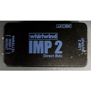 Pre-owned Whirlwind Imp 2 Direct Box by Whirlwind