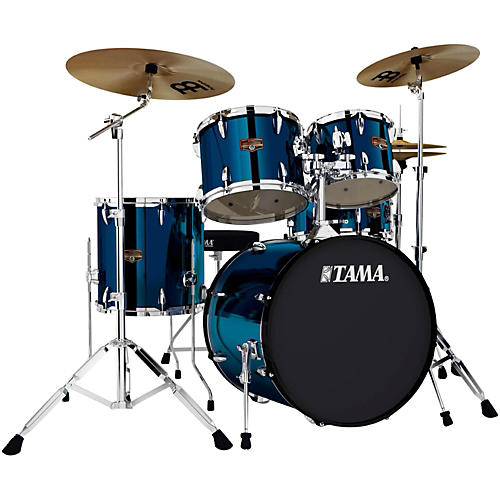 tama imperialstar 5 piece 20 bass drum set with cymbals guitar center. Black Bedroom Furniture Sets. Home Design Ideas