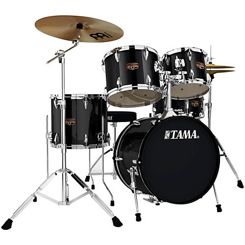 tama imperialstar 5 piece drum set with 18 bass drum and meinl cymbals guitar center. Black Bedroom Furniture Sets. Home Design Ideas