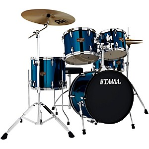 Tama Imperialstar 5-Piece Drum Set with 18 inch Bass Drum and Meinl Cymbals
